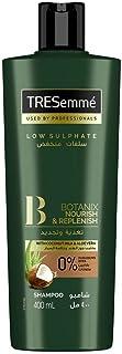 Tresemme Botanix Natural Nourish & Replenish Shampoo with Coconut Milk & Aloe Vera for Dry Hair, 400ml