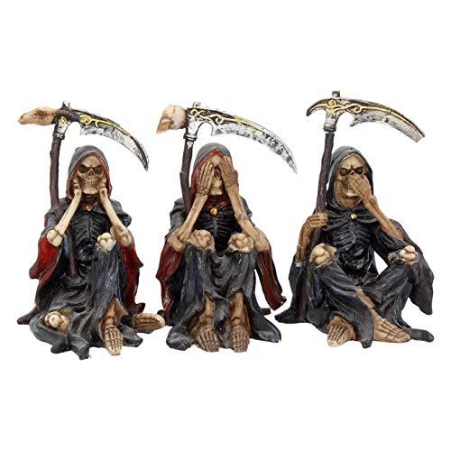 Nemesis Now Something Wicked (Set of Three) Figurine 13cm Black