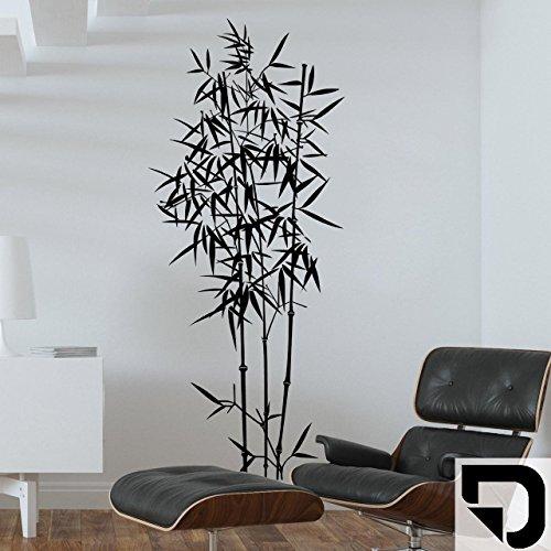 DESIGNSCAPE® Wandtattoo Bambus 68 x 160 cm (Breite x Höhe) schwarz DW804021-M-F4