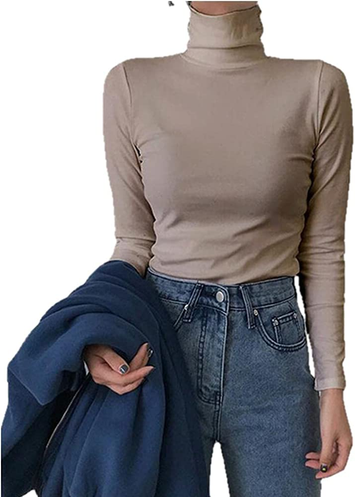 NP Spring and Autumn Long-Sleeved Slim Knit Bottoming Sweater Women's