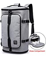 KAKA Travel Duffel Backpack, G...