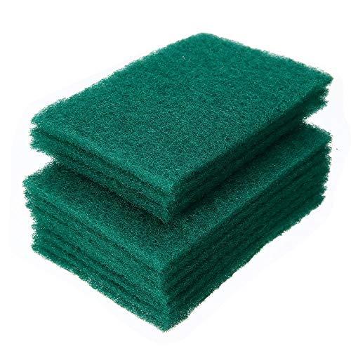 LLine 20 stks groene schotel wassen spons keuken kom afwassen schoon scrub schoonmaak pads voor huishoudelijke schone accessoires