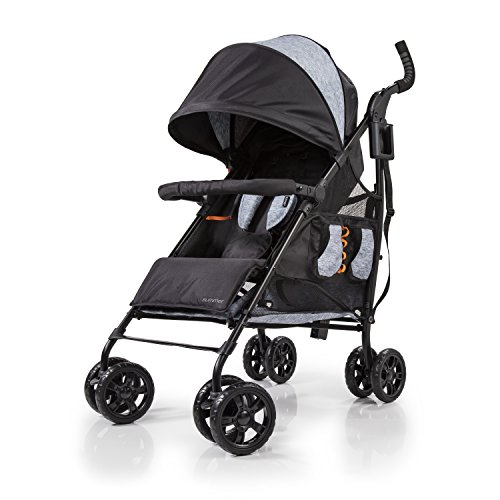 Summer 3DtoteCS+ Convenience Stroller, Gravel Grey Connecticut