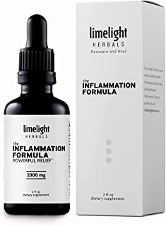 The Inflammation Formula - Fight Inflammation + Joint Pain Once and for All. Highest Potency Turmeric Curcumin Ginger Bosw...