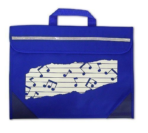 Mapac Music Bag Duo - Music Notes - Blue