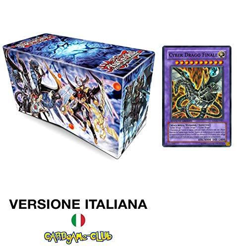 LEONARDO SERVIZI SAS DI Bergamin Catia & C. Konami Yu-Gi-Oh! L'Eredita' del Valoroso Edizione Deluxe (Cherubgermoglio Silvano) + Cyber Drago Finale