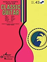 Solos for Classical Guitar: World's Favorite Series #43
