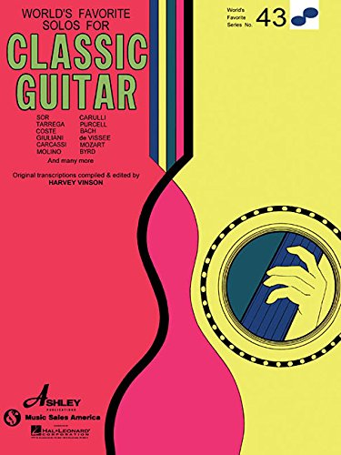 Solos for classical guitar guitare: World's Favorite Series #43