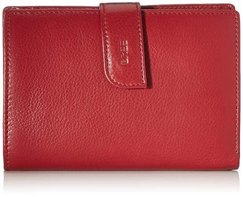 BREE Damen Lynn 119 Geldbörse, Rot (Brick Red), 2x10x15 cm