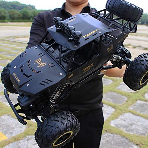 POXL Ferngesteuertes Auto, 2.4G Ferngesteuertes Rock Crawler Offroad Auto RC Rennwagen für Jungen Mädchen Erwachsene