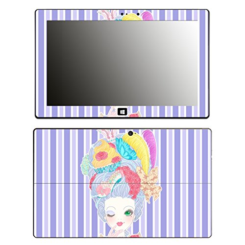 'Disagu SF 105352_ 1138Protective Skins Case Cover For Microsoft Surface Pro 2–Marie Antoinette 03Clear