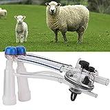 Jeffergarden 1 Satz Melkmaschine Ziegenmelkmaschine Melkfolien Tragbare Ziegenmelkeinheit Rinder Kuh Schaf Melker Zubehör