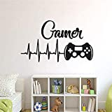 Game Controllers Wall Sticker For Boys Room Playstation Wall Decals Video Game Design Wall Stickers Gaming Controller Decor42*74cm