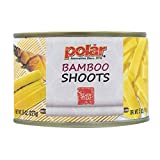 MW Polar Canned Vegetables, Sliced Bamboo Shoots, 8 Oz (Pack Of 12)