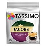 Tassimo Jacobs Caffe Crema Intenso Tdisc Coffee Capsules 16 Drinks