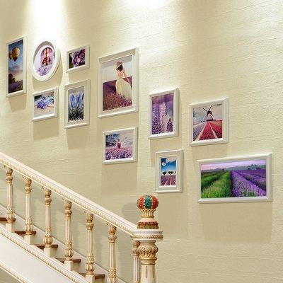 Unbekannt La Photo escalier Mur ? méditerranéen Cadre Combinaison Salon. La Corridor créative Photo de Marche à la wanddie 11 Boîte Tout Blanc