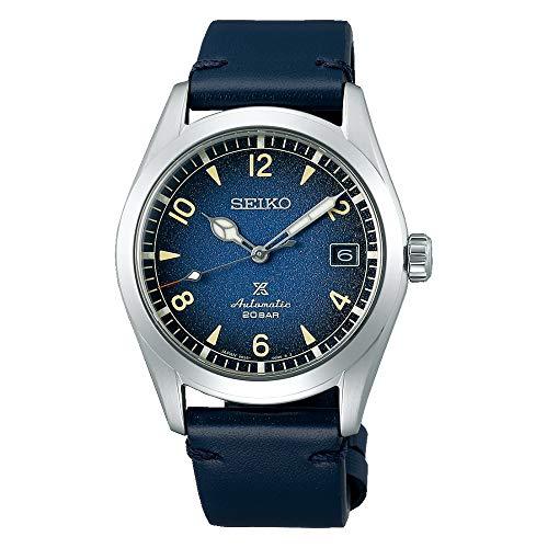 Reloj Seiko Prospex Automático Acero Cuero Azul SPB157J1