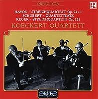 Streichquartette Op. 74/1 by Haydn/Schubert/Reger (1993-03-30)