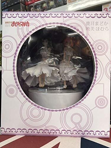 Anime Puella magi Madoka Magica Akemi Homura Kaname Madoka schöne Statue mädchen Figur Spielzeug, zusammen mit Box