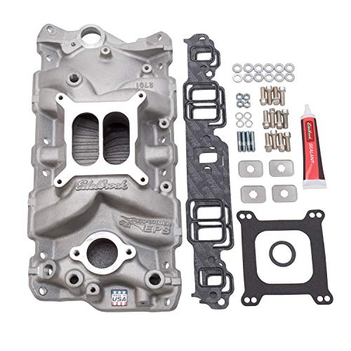 Edelbrock 2040 Performer EPS Intake Manifold Installation Kit, Multicolor, One Size