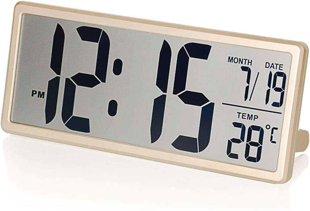 Desk OFFicial store Table Cheap bargain Clock Creative Large Alarm Screen Electronic