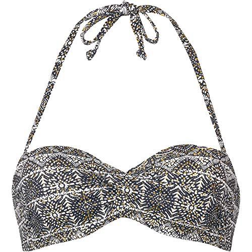 Lascana Damen Bikini Oberteil schwarz 44 / B