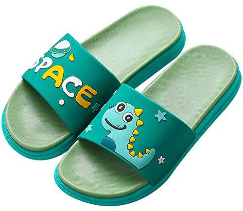 Gaatpot Donne Uomo Antiscivolo Pantofole Ciabatte da Bagno Unisex Bambini Scarpe da Spiaggia e Piscina Verde 37/38 EU = 38/39 CN