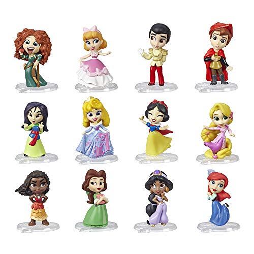 DISNEY PRINCESS E6279EU4 Disney Prinzessin 5 cm große Sammelfiguren, Puppen Überraschungsbox mit den beliebtesten Charakteren Comics, Serie 2