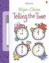 Wipe Clean Telling the Time (Usborne Wipe Clean Books)