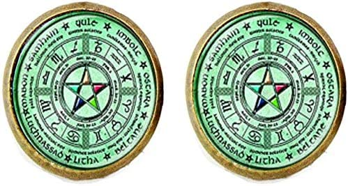 Wiccan Our shop most popular Pentagram Earring P Wicca Jewelry Max 49% OFF