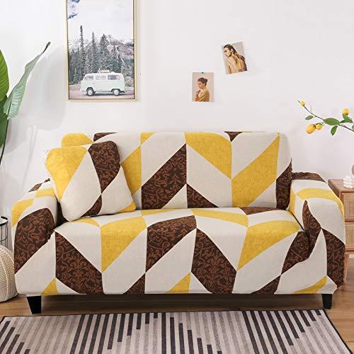 Funda de sofá elástica Universal para Sala de Estar, Toalla de sofá, Funda de sofá Antideslizante a Prueba de Polvo, Funda de sofá elástica A10, 3 plazas