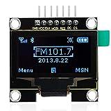 KEYESRUDIO OLED Display mit 1,3 Zoll und 128 x 64 Pixel I2C IIC Display for Arduino UNO R3 Mega 2560 Raspberry Pi Kit