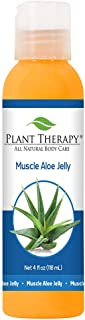Plant Therapy Muscle Aloe Jelly 4 oz Aromatherapy Jelly, All Natural