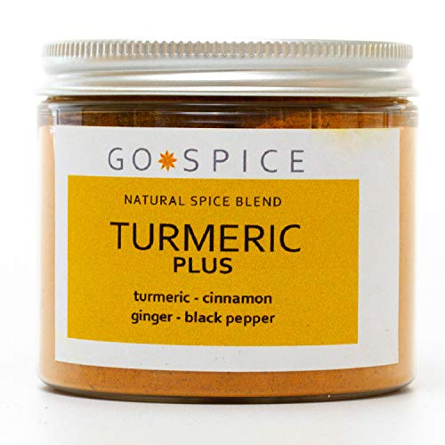 Turmeric Latte Mix and Seasoning - Turmeric Plus May be Used to Make a Healthy Turmeric Latte Drink or can be Added to Cooking to add Flavour - 90g