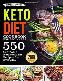 Keto Diet Cookbook For Beginners: 550 Craveable Ketogenic Diet Recipes for Everyday (Keto Cookbook)