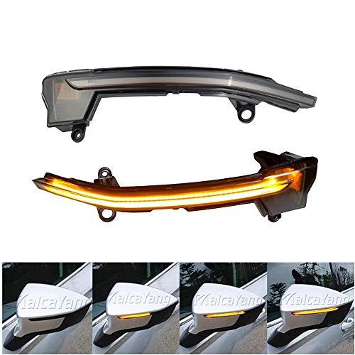 Links Rechts Spiegelblinker Dynamische LED Blinkerleuchten Blinker für Seat Ateca 2016-2019 Tarraco 2018, mit E-Prüfzeichen