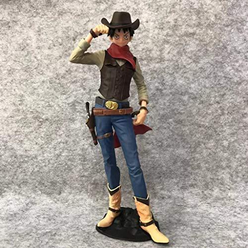 Jouet Statue One Piece Jouet Modèle Cartoon Character Décoration/Collectibles/Artisanat Cowboy Route Fly 20.5CM