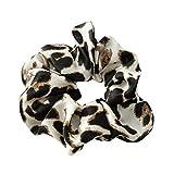 Auifor - Anello per capelli da donna, stile casual, con stampa leopardata, in morbido tessuto Multicolore Etichettalia unica