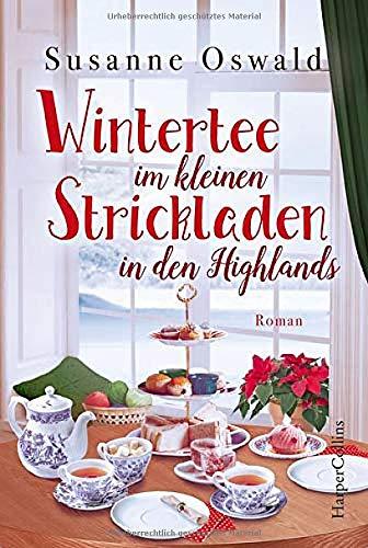 Wintertee im kleinen Strickladen in den Highlands