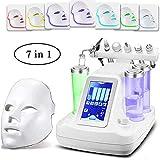 ZNXY Máquina de Limpieza Facial al vacío 7 en 1, hidrochorro de Agua y oxígeno, Limpiador Facial...