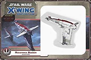 Fantasy Flight Games Current Edition Star Wars X Wing Resistance Bomber Expansion Pack Board Game