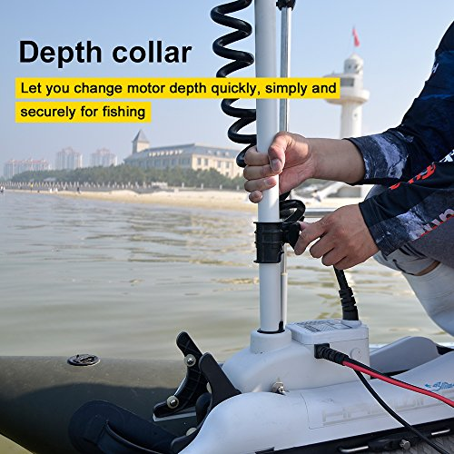 AQUOS Haswing Bow Mount Trolling Motor with three wires