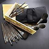 Conjuntos de pinceles de maquillaje Kits, pinceles de maquillaje facial, 24 PCS Professional Premium Synthetic Synthetic Foundation Foundation Powder Correctores Ojo Sombras Maquillaje Pinceles Conjun