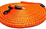 BGDesign Katzenleine 5m 10m lang orange neon Schleppleine rund für