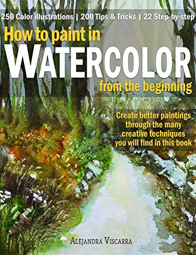 How to paint in Watercolor from the beginning