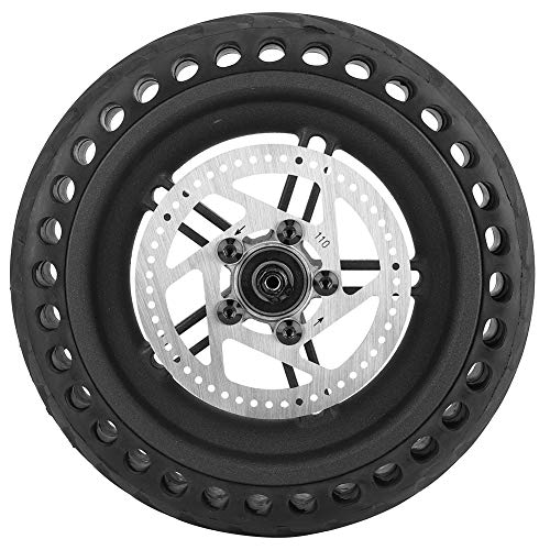 VGEBY Scooter Wheel Hub Tyre, Shock-Absorbing Anti-Explosion Honeycomb Electric Scooter Rear Tire Wheel Replacement Set Compatible with Mijia M365 Electric Scooter