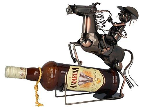 Flaschenhalter Cowboy 544747.1 aus Metall