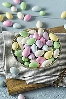 CrazyOutlet Pack - Ferrara Jordan Almonds Pastel, Wedding Candy Coated Almonds, 2 Lbs