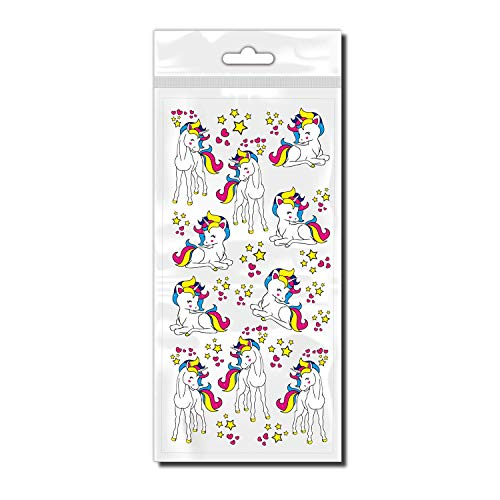 style4Bike Einhorn Fantastische Einhorn als Sticker Set für Fahrrad ✓ Schöne Aufkleber ✓ | D00032