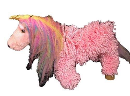 Pink Yarn Unicorn Marionette Puppet | MUN16-4 | STYLES VARY